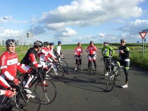 clinic fietsclub Voor de Wind